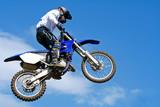 Fototapety motocross jumping