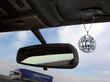 Leinwanddruck Bild - travel with disco mirror ball
