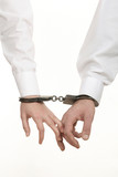 hands with handcuffs