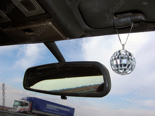 travel with disco mirror ball - 2643789