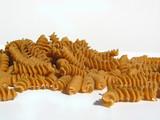 corkscrew pasta whole wheat poster