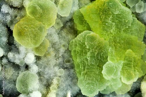 macro: minerale di fluorite