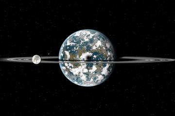 pianeta con anelli