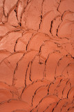 clay tiles pattern poster