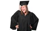 happy graduate poster