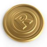 golden register sign chip poster