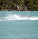 wake board flip poster