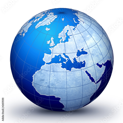 World Globe Map. world globe