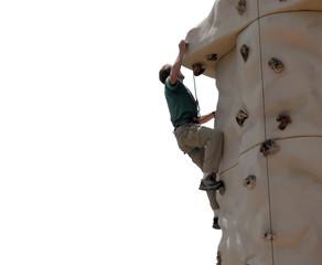 climbing wall - montana