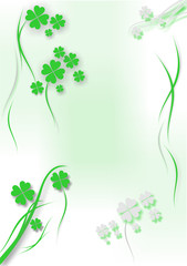 st. patrick´s day background