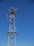 mobile radio base tower poster