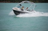 wake board tow boat poster