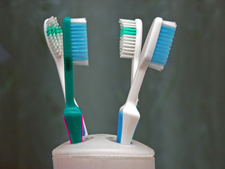toothbrush stand