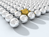 chromium spheres array poster