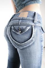 nalgas en jeans