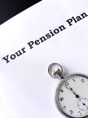 time running out for a pension