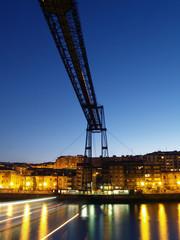 puente colgante de vizcaya