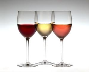 3 verres de vin