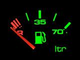 petrol meter. poster