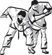 combat de ju-jitsu