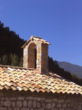 little chapel in the mountains (catalonia, spain) poster
