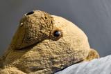 ours peluche enfant maltraité violence parentale poster