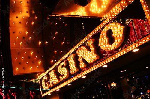Deurstickers Las Vegas las vrgas neon casino sign