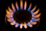 gas burner flame poster