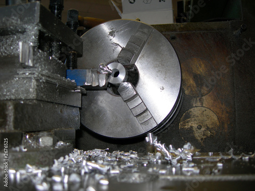 a wheel lathe