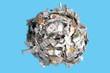 paper cutting sphere