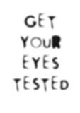 poor eyesight poster