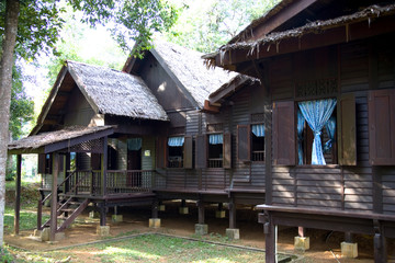 traditional malay house