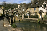 castle combe, wiltshire poster