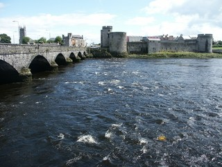 the shannon at limerick