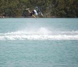wake board flip trick poster