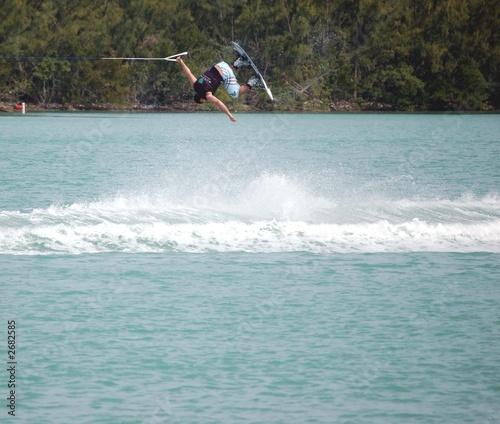 wake board flip trick