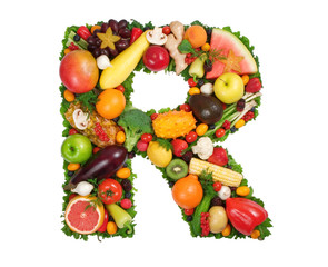 "alphabet of health - ""r"""