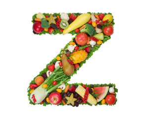 "alphabet of health - ""z"""