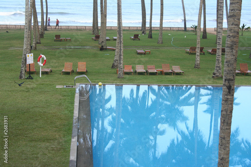 beach swimming pool beach