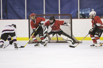 goalie on edge