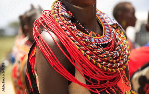 Leinwandbild Motiv african jewellery