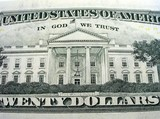 american twenty dollars poster
