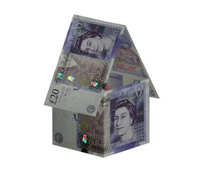 new £20 note house