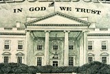 fragment of american dollars poster