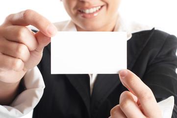 businesswoman closeup