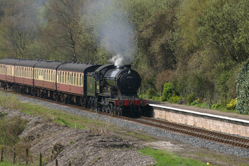 steam train comes to roost