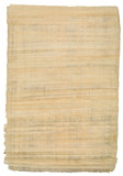 sheet of egyptian papyrus poster