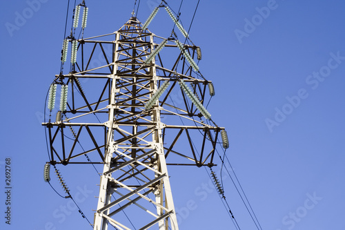 the power transmission line construction
