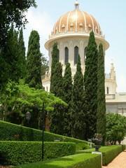 jardins et temple bahaï à haïfa