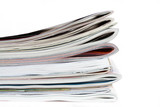 magazines isolated poster
